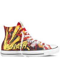 Converse - All Star DC Comics- Flash - Hi - Red/Yellow
