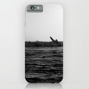 Wipe Out/Paddle Out iPhone & iPod Case by Derek Delacroix