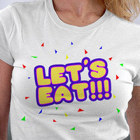 Let's Eat Five Days At Freddy's  T Shirt, Video Game T Shirt, Birthday Gift