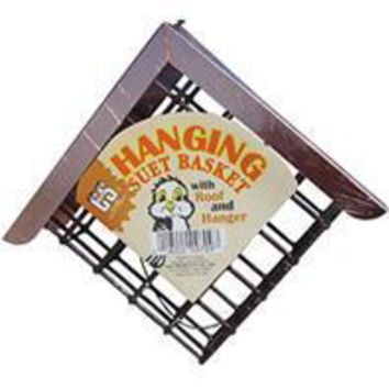 C And S Products Co Inc P - Hanging Suet Basket With Roof