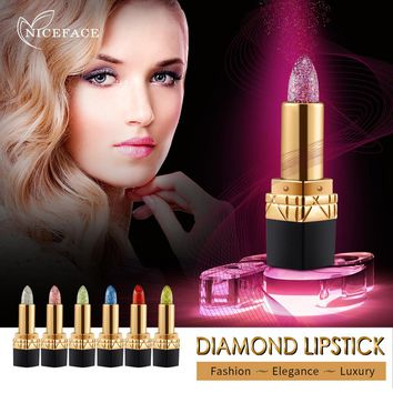 Women Lip Stick Lip Gloss Lipstick Temperature Color Change Lip Moisturizing Care