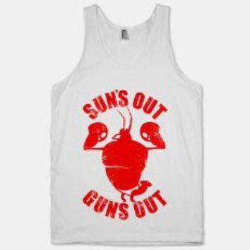 Suns Out Guns Out Larry the Lobster