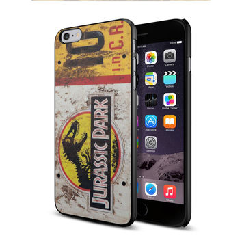 Jurassic Park License Plate Jeep for iPhone 6 plus