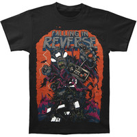 Falling In Reverse Men's  Video Game T-shirt Black Rockabilia