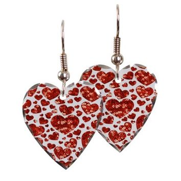 valentines day heart Earring