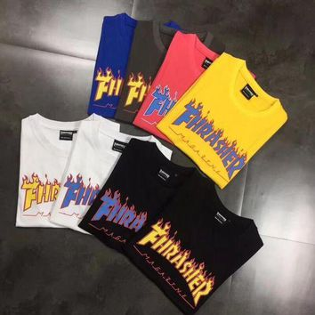 Gotopfashion Thrasher Flame Logo T-Shirt
