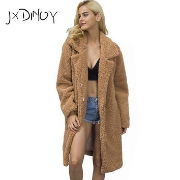 2017 Women's Fur Fashion Autumn Winter Luxury Thick Warm Faux Fox Hair Down Coat Jackets Solid Color Fur Vest Women Jacket Coats