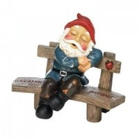 Dreaming and Wishing Gnome Garden Decor