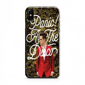 Panic! At The Disco Brendon Hedges iPhone X Case