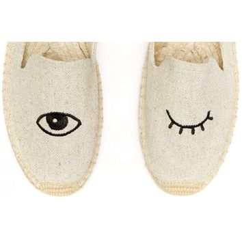 Jason Polan Wink - Sand slip on shoes for Women from Jason Polan & Soludos - Soludos Espadrilles