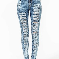 Damage Control Skinny Jeans