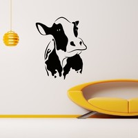 Wall Decal Vinyl Sticker Animal Cow Decor Sb689