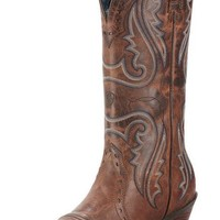 Ariat Heritage Western X-Toe Sassy Brown Leather Boots