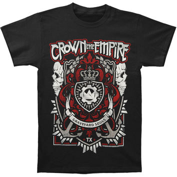 Crown The Empire Men's  Souls T-shirt Black