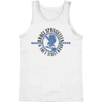Bruce Springsteen Men's  Eagle Mens Tank White Rockabilia