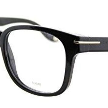 Givenchy GV 0001 807 Black Plastic Square Eyeglasses 51mm