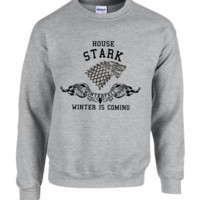 house stark game of thrones crewneck sweatshirt