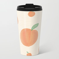 Peachy Metal Travel Mug by sm0w