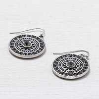 AEO Disc Earrings , Silver | American Eagle Outfitters