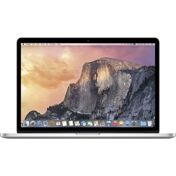 "Apple - MacBook Pro with Retina display - 15.4"" Display - 16GB Memory - 512GB Flash Storage - Silver"