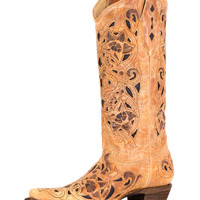 Corral Women's Ant Saddle Brushed Boot - A1970