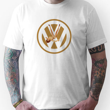 Volkswagen Pin-up (yella) Unisex T-Shirt
