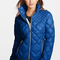 MICHAEL Michael Kors Diamond Quilted Down Jacket (Online Only) | Nordstrom