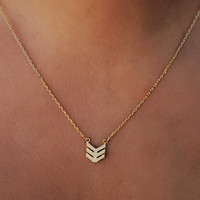 Arrows Away Necklace