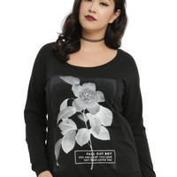 Fall Out Boy Flower Girls Top Plus Size
