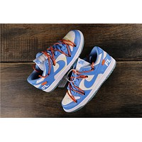 Off White X Futura X Nike Sb Dunk Low Sneakers