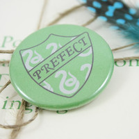 "Slytherin Prefect 1.5"" Pin"