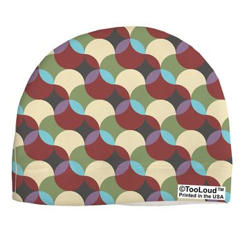 Geometric Abstract AOP Child Fleece Beanie Cap Hat All Over Print by TooLoud