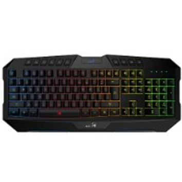Genius E-sport Gaming Backlit Adjustable USB LED Backlight Keyboards
