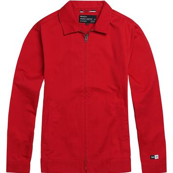 RVCA YGVA Work Jacket - Mens Jacket - Red