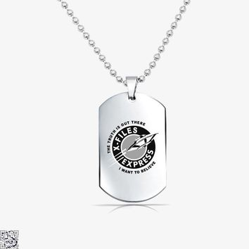 X Files Express, Lord Of The Rings Tag Necklace