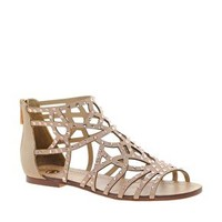 River Island Diamante Ankle Strap Sandals at asos.com