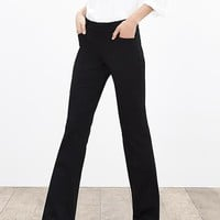 Banana Republic Womens Sloan Fit Black Trouser