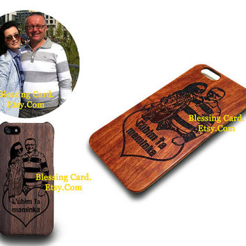 Custom Walnut Wood iPhone 6 Case for Kormuthova Kristina 1