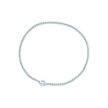 Tiffany & Co. - Tiffany Beads toggle necklace in sterling silver.