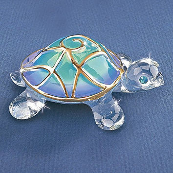 Tiffany the Turtle Glass Figurine