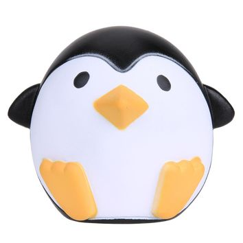 Cute Squishy Penguin Toy Animal Slow Rising Sweet Scented Vent Charms Bread Cake Kid Toy Doll Gift Fun