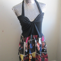 Selena Quintanilla Halter Dress