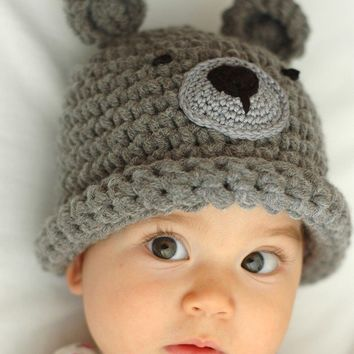 Bear beanie 24 Years by beliz82 on Etsy