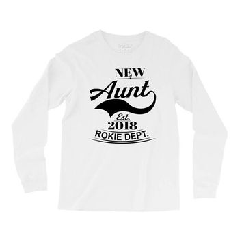 New Aunt 2018 Rokie Dept. Long Sleeve Shirts