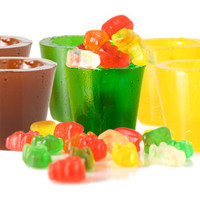 GUMMY SHOT GLASSES - COLA, LEMON & LIME