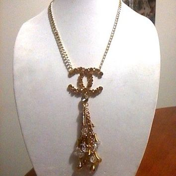 "Fantastic 20"" Designer Runway Gold-Tone Statement Thick Chain Necklace"