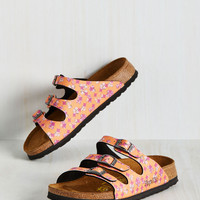 Strappy Feet Sandal in Orange | Mod Retro Vintage Sandals | ModCloth.com