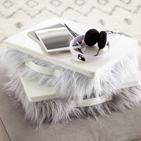 Faux-Fur Superstudy Lapdesk