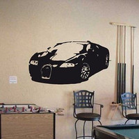Bugatti Veron Super Car Wall Art Sticker Decal 12