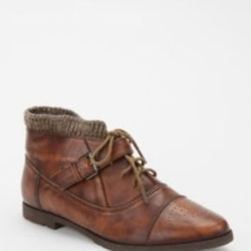 UrbanOutfitters.com > BDG Lace-Up Sweater Cuff Boot
